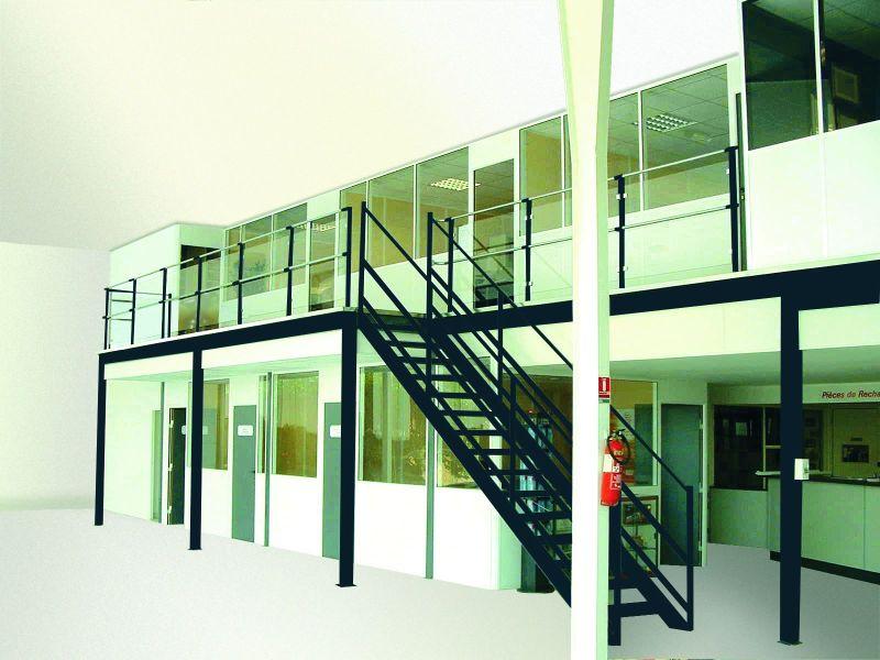 Mezzanine Avec Bureau Rayonor