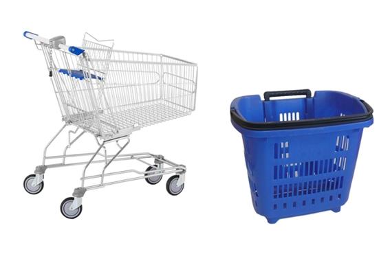 Chariots et paniers pour votre magasin