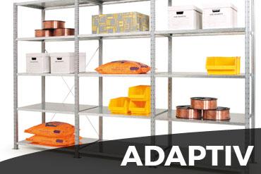 Rayonnage hyper adaptable Adaptiv