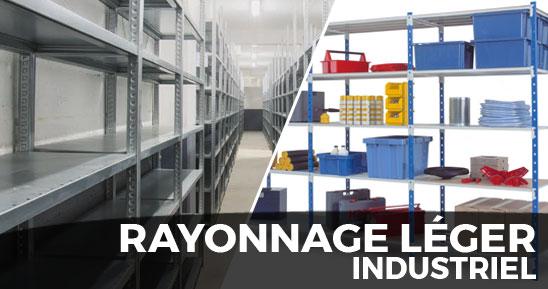 Rayonnage léger industriel