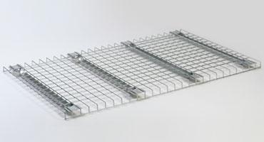 Platelage fil pour rack à palettes